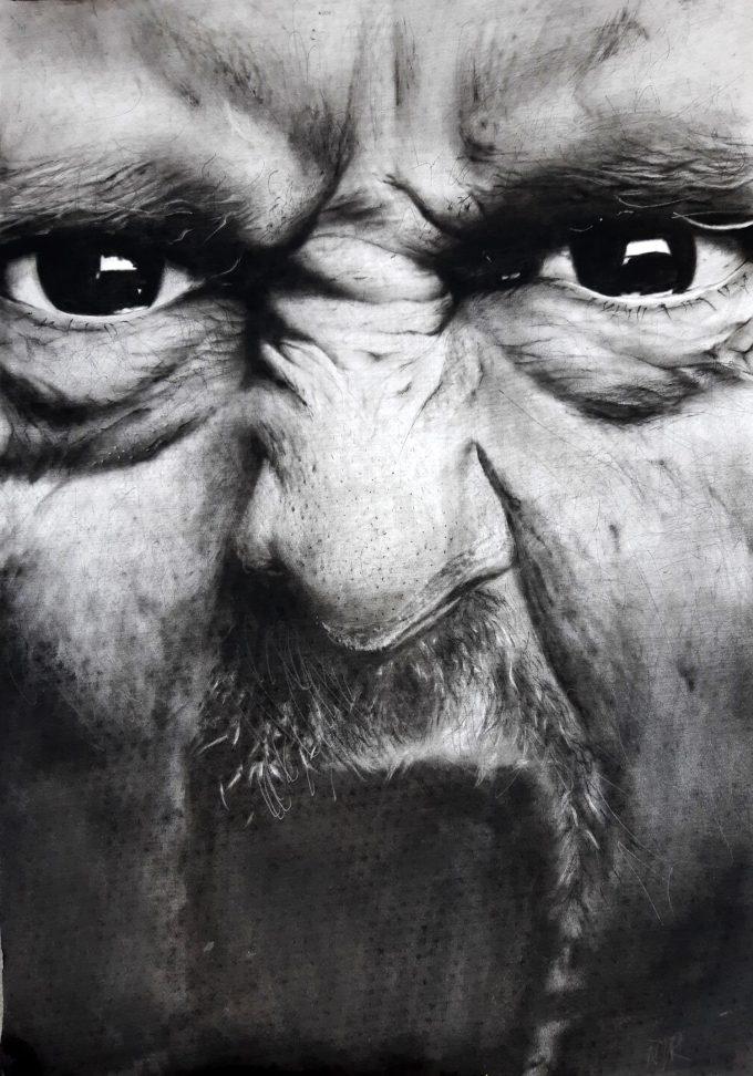 Photorealist drawing